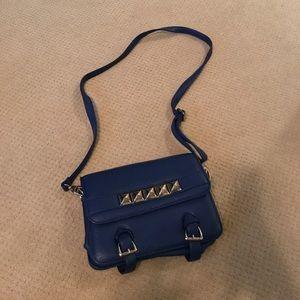 Handbags - Blue crossbody bag